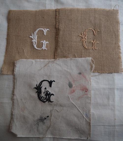 Série des monogrammes G