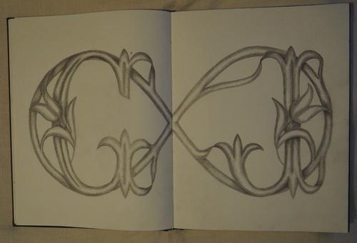 Série des monogrammes G: Le grand Huit.