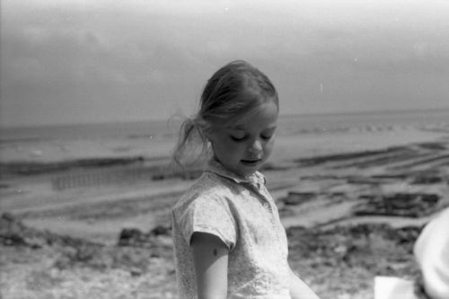 La jeune fille et la mer.