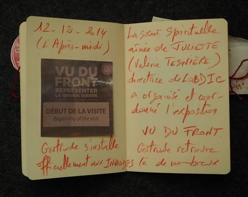 Les 26 vues psychogéographiques de Gertrude par mfd